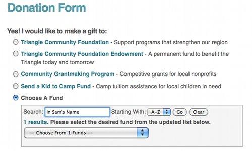 Choose a Fund